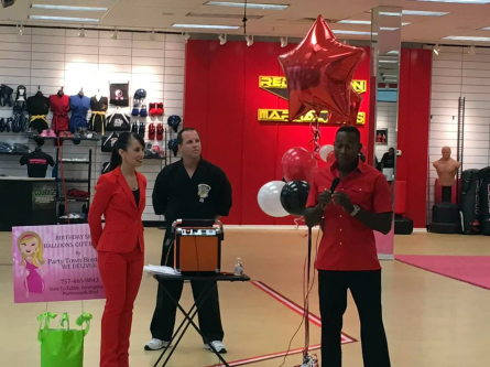 Tiger Moe, Master Barley & Grand Master Hill during their Grand Opening.
